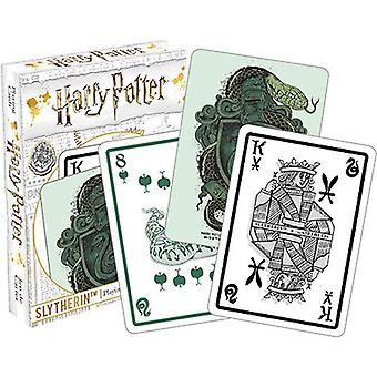 Harry Potter - Slytherin Spielkarten