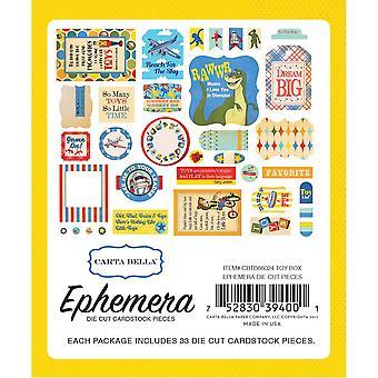 Carta Bella Speelgoeddoos Efemera