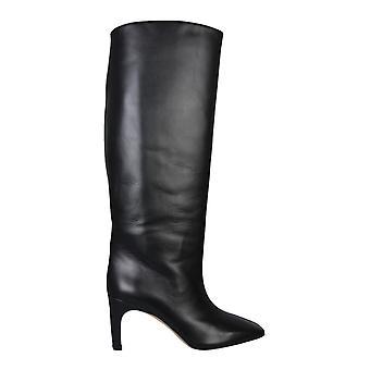Gia Couture Clizia02a1 Women's Black Leather Boots