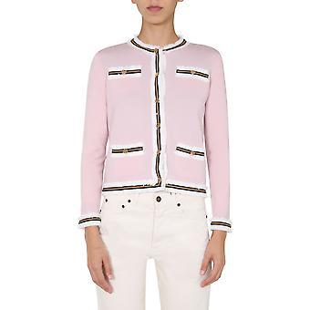 Tory Burch 60033656 Mulheres's Pink Wool Cardigan