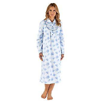 Slenderella ND66211 Women's Floral Nightdress