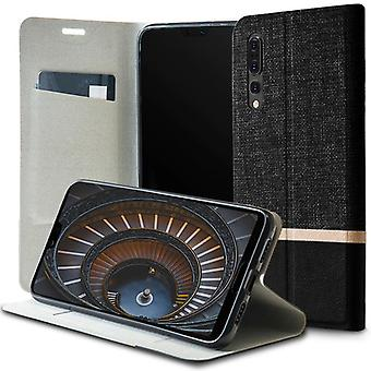 Shell for Huawei P20 Pro Black Denim Case Jeans