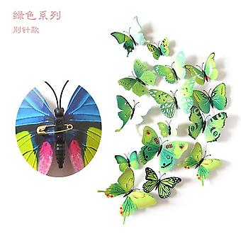Wall Stickers Butterfly 3d Wallpaper Pvc House Decoration High Quality