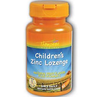 Thompson Zinc Children's Lozenge With Vit C Fruit Flavor, 45 Loz