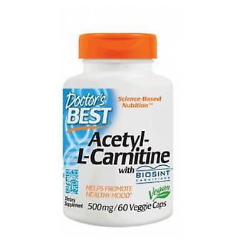 Doctors Best Best Acetyl L-carnitine, 588 mg, 60 Veg Caps