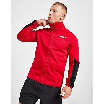 Novo McKenzie Men's Hebel Full Zip Track Top Red