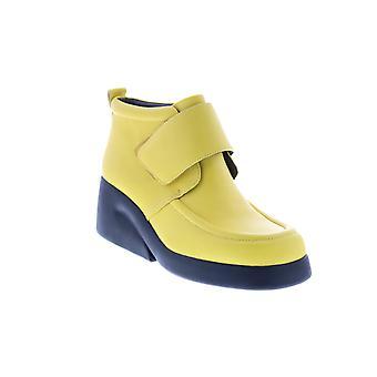Camper Kaah Womens gul syntetisk rem Casual Klänning Stövlar