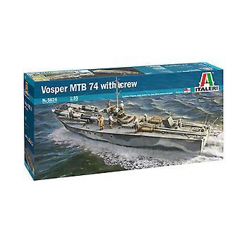 Italeri 5624 Vosper MTB 74 avec Crew 1:35