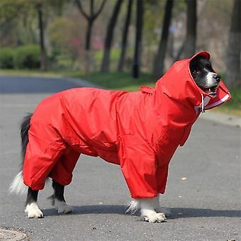 Impermeabil ploaie pet îmbrăcăminte haina mare câine raincoat haine pentru big mediu mici câini în aer liber