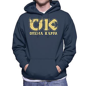 Pixar Monsters Inc University Oozma Kappa Logo Men's Hooded Sweatshirt