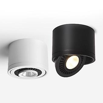 Dimmable Surface Mounted Led Cob Downlight, 360 Degree Rotating Led Spot