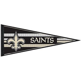 Wincraft NFL Felt Pennant 75x30cm-New Orleansin pyhät