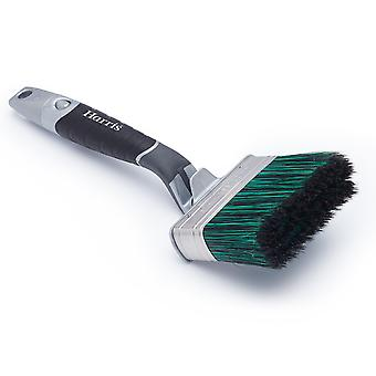 Harris Ultimate Shed & Fence Swan Neck Paintbrush 100mm 103031101