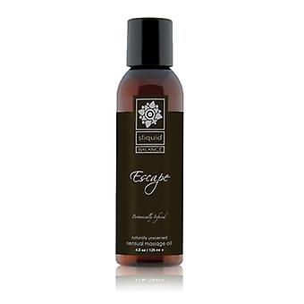 Sliquid Balance Collection Massage Oil Escape: 125ml