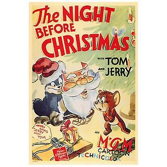 Yö ennen joulua elokuvajuliste tulosta (27 x 40)