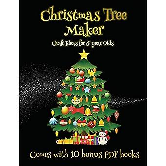 Craft Ideas for 5 year Olds (Christmas Tree Maker)