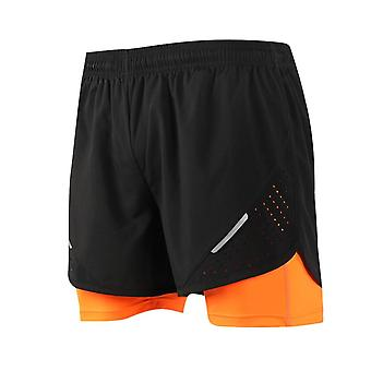 Men's 2 In 1 Training Exercise Shorts