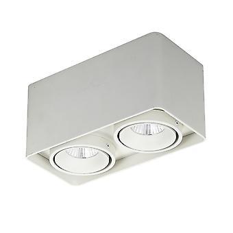 Moderne technische LED-oppervlak gemonteerd wit, warm wit 3000K 1700lm