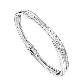 Eternity Damer Silverpläterade Multi Crystal Armring