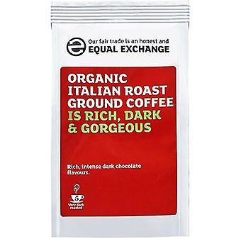 Equal Exchange Organic Italian R&G Coffee 227g x8