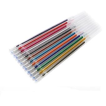 Penne in gel glitter per ufficio scolastico