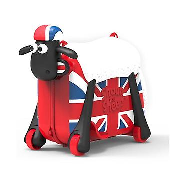 Rolling Luggage Spinner Suitcase Wheels Students Multifunction Sheep Trolley