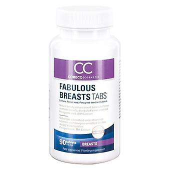 CC Fabulous Breasts Tabs - 90 Tablets - Natural Breast Enhancement Supplement