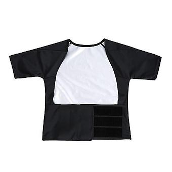 5 Ori Transpirație eficiență Femei Costum pentru pierderea în greutate, Pant Coat Shapewea