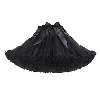 Femme de jupon, crinoline courte d'Halloween, mini robe de bal, underskirt