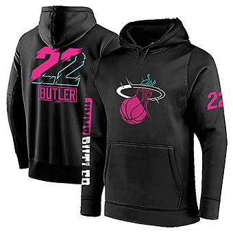 Miami Heat No.22 Jimmy Butler Pullover Hoodie Swearshirt Tops 3WY011