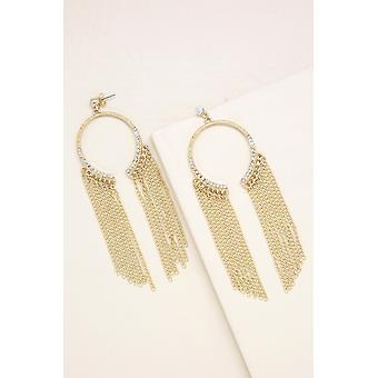 Marietta Statement Earrings In Gold