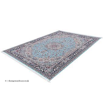 Chatsworth blå matta