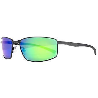 Freedom Wrap Sport Sunglasses - Black/Blue/Green