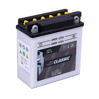 intAct CB5L-B Classic Bike-Power Battery With Acid Pack