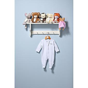 "The Essential One Baby Unisex Long Sleeve White ""best Friends"" Sleepsuit"