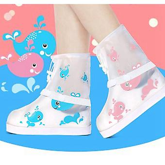 Kids Waterproof Rainboot Shoes Cover