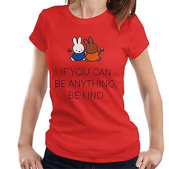 Nijntje Als Je Alles Kan Zijn Kind Dames's T-Shirt