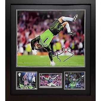 Manchester United Schmeichel Signed Framed Print