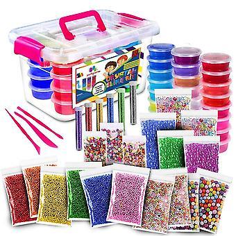 52pack Fluffy 24 farge slim kit