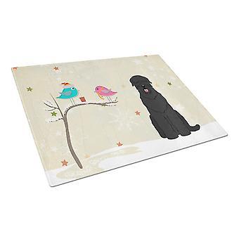 Caroline'S Treasures Cutting Board #3, Black Russian Terrier