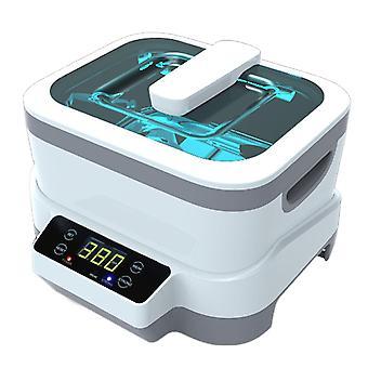 1.2l المنزلية الرقمية عرض بالموجات فوق الصوتية تنظيف آلة نظارات أنظف 110v أو 220v