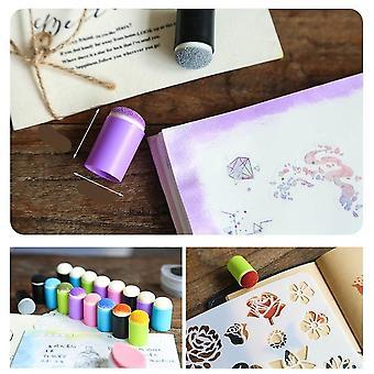 لون الإصبع الإسفنج Dauber أداة الفن لرسم Diy دفتر يوميات يوميات