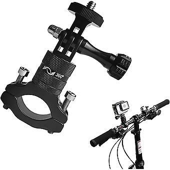 Fahrrad Halterung fr Actionkameras,Aluminiumlegierung,360-Grad-Rotation,Fahrrad Action Kamera