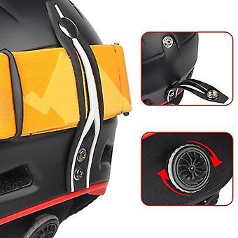 ウォームスノーボード安全冬屋外スポーツヘルメット