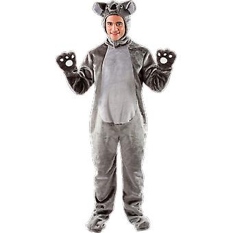 Orion kostuums Unisex Giant Grey Koala Bear fancy dress dier kostuum