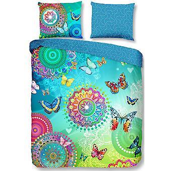 bed cover Mystic 140 x 200 cm cotton blue