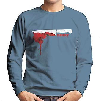 Chucky Floral Blood Drop Heren's Sweatshirt