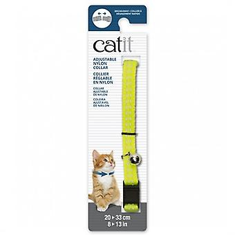 Catit Yellow Reflective Breakaway Collar (Dogs , Collars, Leads and Harnesses , Collars)