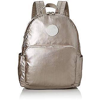 Kipling CITRINE Afslappet rygsæk, 42 cm, 17 liter, sølv (metallisk glød)