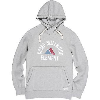 Element Valdez Pullover Hoody à Grey Heather